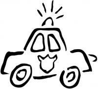 Для маленьких Раскраски машины для мальчиков