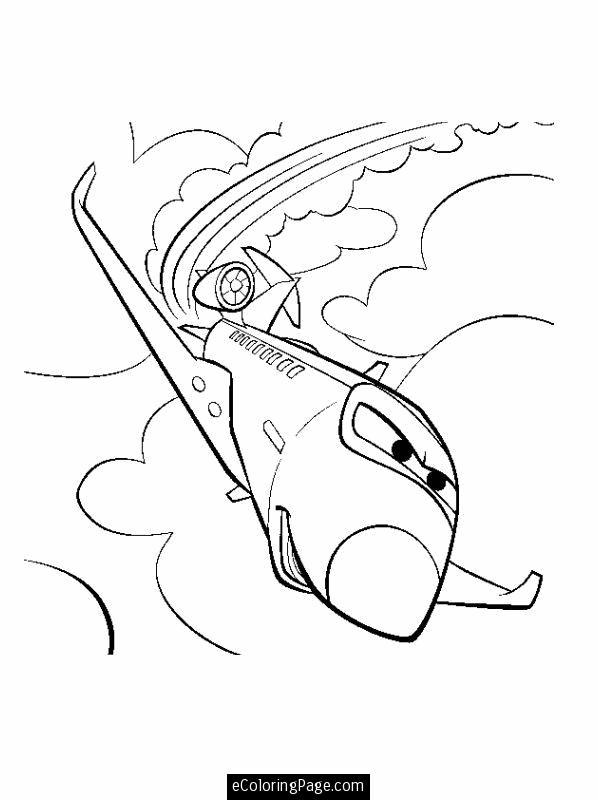Самолет Скачать раскраски для мальчиков