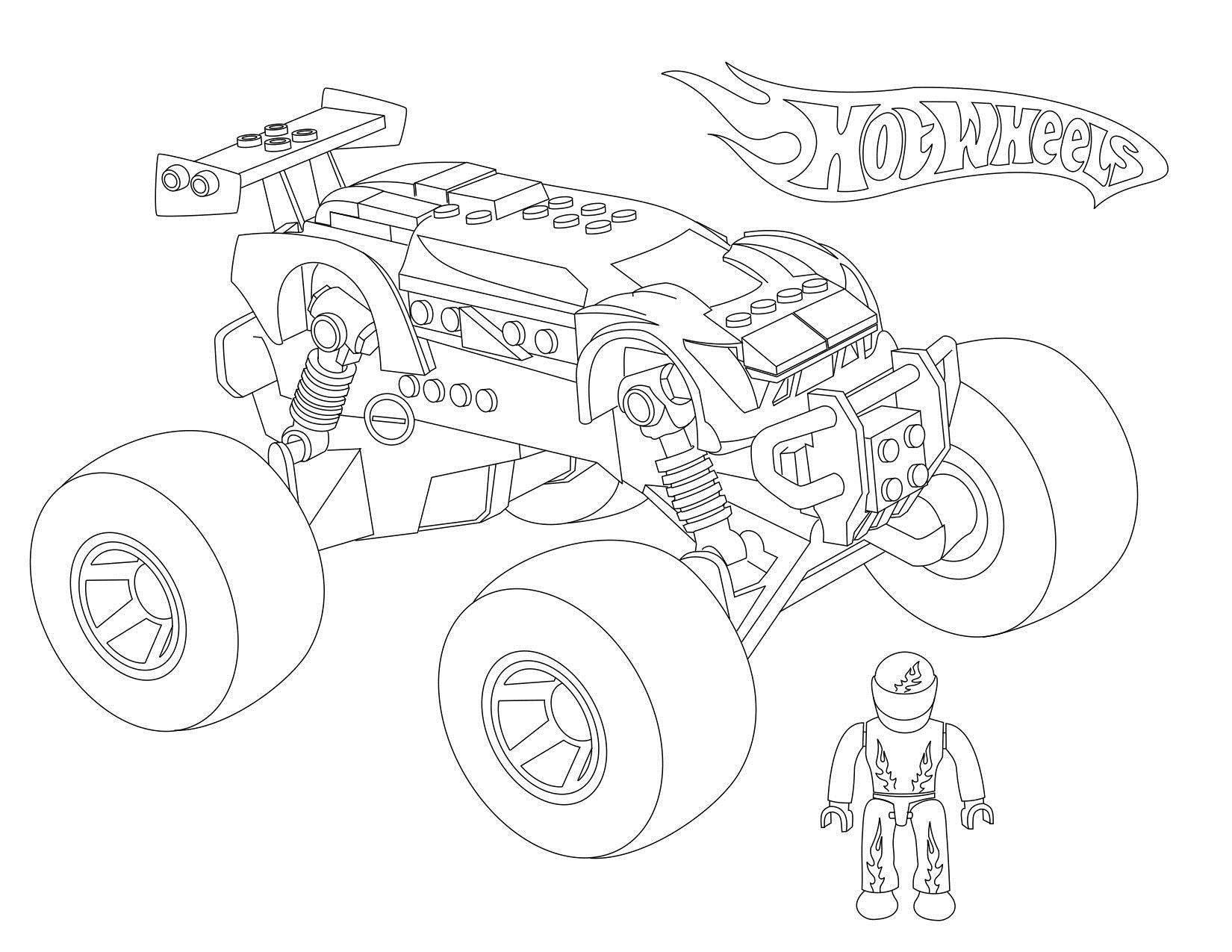 Космический легомобиль Скачать раскраски машины
