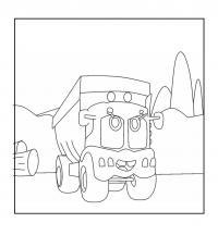 Грузовик декс Раскраски машины