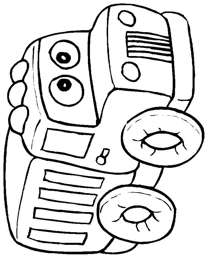 Раскраски Добрый грузовик Раскраски машины скачатьРаскраски для мальчиков