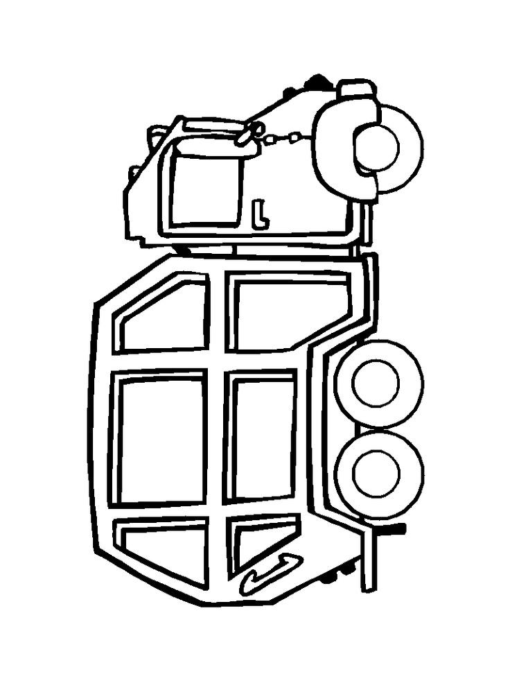 Машины Большой грузовик Раскраски машины распечататьРаскраски для мальчиков